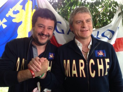 Matteo Salvini a Fano – VIDEO