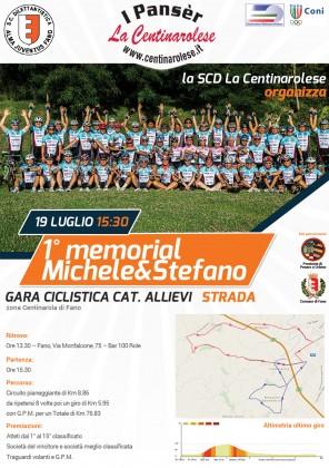 Domenica 19 Luglio a Fano primo memorial Michele&Stefano