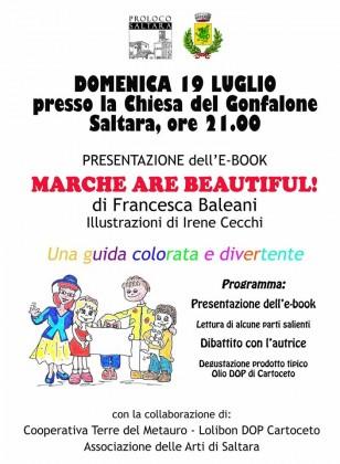 """""""E-book Marche are beautiful"""", presentazione nella Chiesa del Gonfalone"""