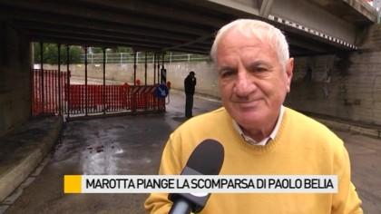 Marotta piange la scomparsa di Paolo Belia – VIDEO