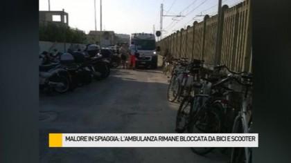 """Ambulanza bloccata, Marchegiani: """"Prenderemo provvedimenti"""" – VIDEO"""