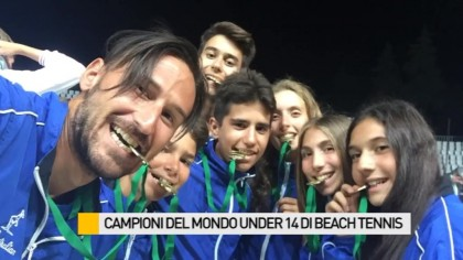 Ecco i Campioni del Mondo Under 14 di beach tennis – VIDEO