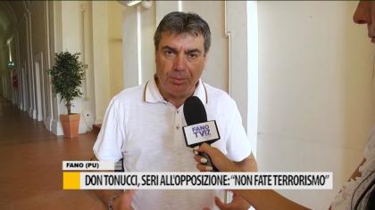 """Don Tonucci, il sindaco Seri all'opposizione: """"Non fate allarmismo""""- VIDEO"""