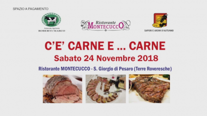 C'è carne e… carne – Ristorante Montecucco (24 novembre 2018)