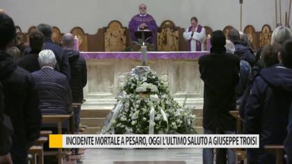 Incidente mortale a Pesaro, oggi l'ultimo saluto a Giuseppe Troisi – VIDEO