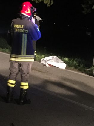 Incidente mortale a Fossombrone. Muore giovane di 19 anni