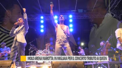 Molo Arena Marotta: in migliaia per il concerto tributo ai Queen – VIDEO