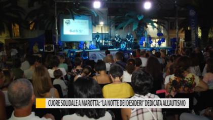 """Cuore solidale a Marotta: """"La Notte dei Desideri"""" dedicata all'autismo – VIDEO"""
