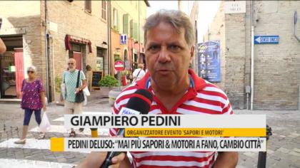 """Pedini deluso: """"Mai più Sapori e Motori a Fano, cambio città"""" – VIDEO"""