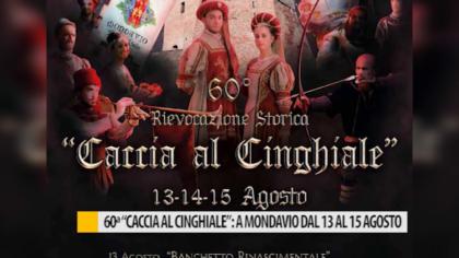 """60° """"Caccia al Cinghiale"""": a Mondavio dal 13 al 15 agosto – VIDEO"""