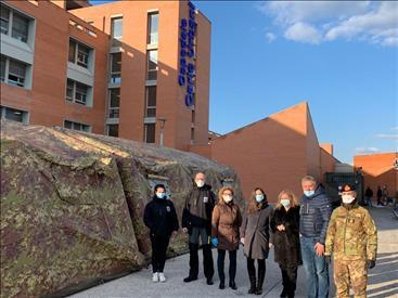 Arrivato a Jesi il contingente della Marina Militare per ospedale da campo