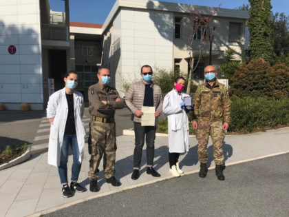 Coronavirus, 28° Reggimento Pavia dona 7.800 euro a Marche Nord