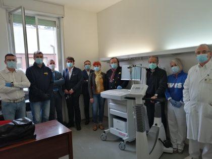 Donato un cicloergometro all'ospedale di comunità di Cagli